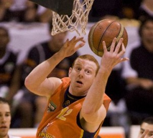 Southland Sharks' basketballer Gareth Dawson