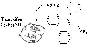 tamoxifen chemical structure