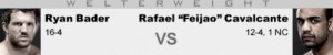 Ryan Bader vs Rafael Feijao Cavalcante