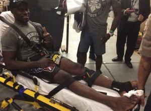 Uriah Hall broken toe