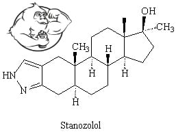 stanozolol chemical-structure