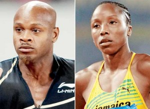 Sherone Simpson asafa powell