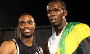 Usain Bolt Tyson Gay
