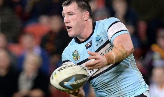 sharks skipper Paul Gallen
