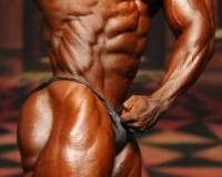 Shawn Rhoden Side Abs Pose