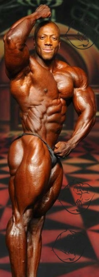 Shawn Rhoden posing