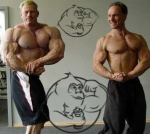 dennis wolf vs regular bodybuilder