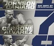 UFC 178 Poster