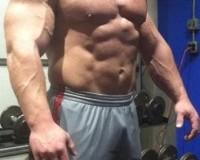 Derek Poundstone Posing
