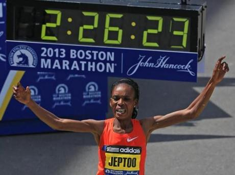 Boston Marathon Winner's B Sample Also Tests Positive