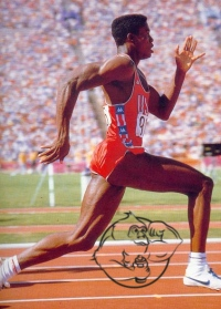 carl lewis sprinter