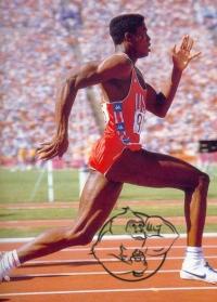 carl lewis sprinter
