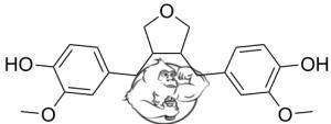 3,4 Divanillyltetrahydrofuran-divanil