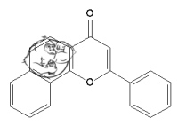 Fig 1. 7,8 Benzoflavone chemical structure