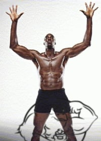 dwight howard muscles