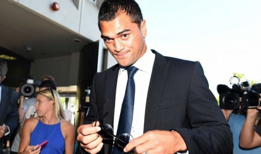 Karmichael Hunt Pleads Guilty To Cocaine Possession