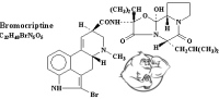 bromocriptine chemical structure