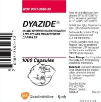 dyazide glaxosmithkline