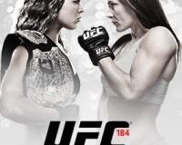 UFC 184 Poster
