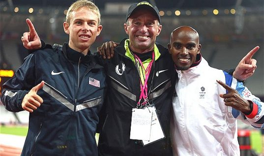 Mo Farah's Coach In Doping Row