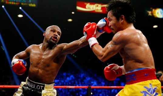 Pacquiao Angered By Reports Mayweather Violated Anti-Doping Rules