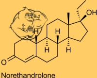 norethandrolone chemical structure