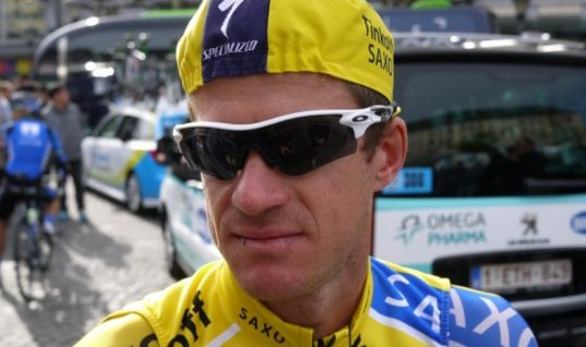 Michael Rogers cycling