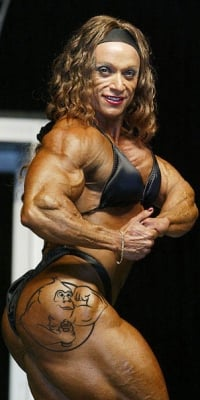 Women bodybuilders clitoris sreroids