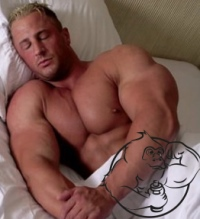 sleeping problem bodybuilder