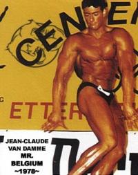 Jean-Claude Van Damme 1978 Mr. Belgium