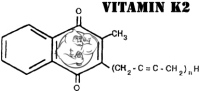 Fig 1. Vitamin K2 Chemical Structure