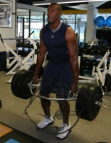 Antonio Gates training
