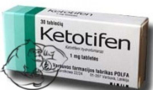 Ketotifen clenbuterol