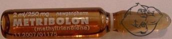 Metribolone ampule