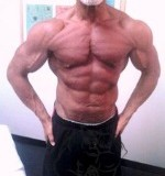 Fig 1. Older Bodybuilder with experience
