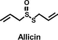 Allicin chemical structure