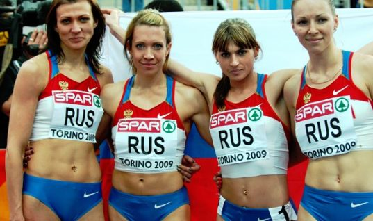 Russia Stripped Of London Olympics Relay Silver For Doping