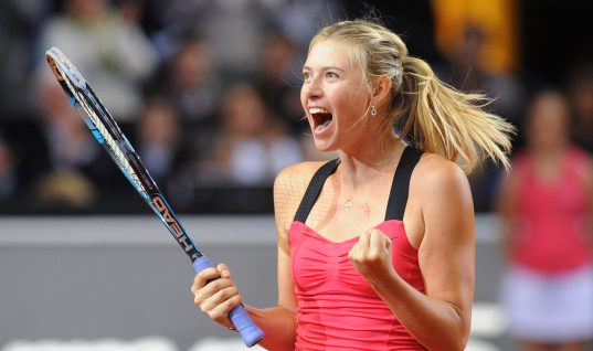 Maria Sharapova Gets Second Wild Card