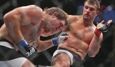 UFC Fighter Villante Cleared Of Potential Doping Violation