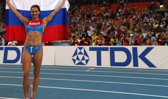 Yelena Isinbayeva Reappointed RUSADA Head