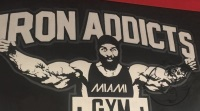 iron addicts miami gym