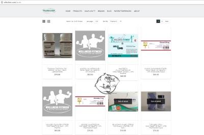 wellnessfitnessnutritionstore webiste
