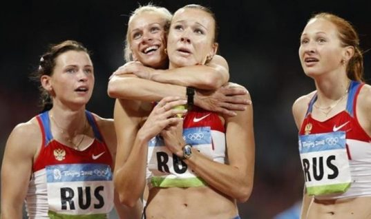 Russian Sprinter Banned For Doping