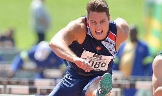 South African 110m Hurdles Champion Banned