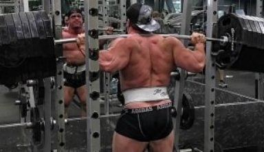 Bradly Castleberry fake weights
