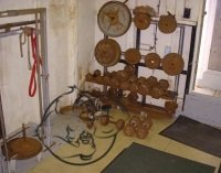 Calum Von Moger rusty gym