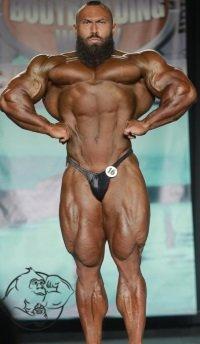Jason Huh bodybuilding show