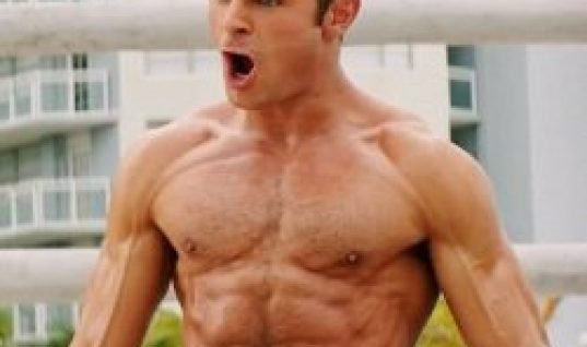 zac efron body