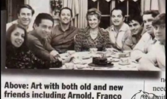 Frank Richards and arnold, franco