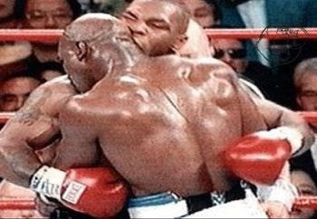 mike tyson vs Evander Holyfield ear bites